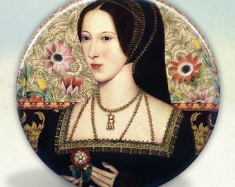 9c2c36e97d Anne Boleyn Tudors pocket mirror Tartx