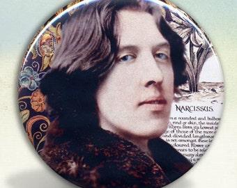Oscar Wilde Narcissus pocket mirror tartx