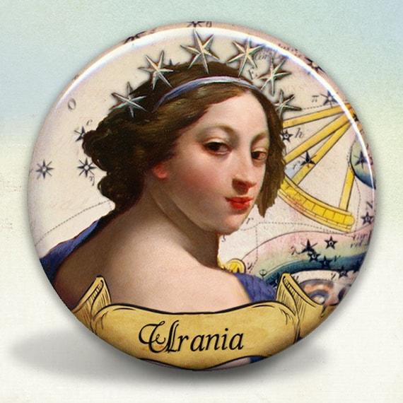 Greek Muse Thalia Pocket Mirror tartx
