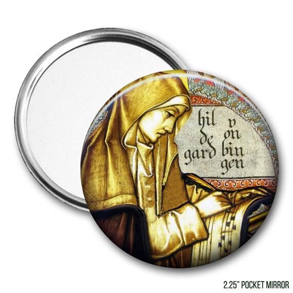 Hildegard of Bingen Pocket Mirror