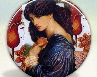 Persephone Rossetti pocket mirror tartx