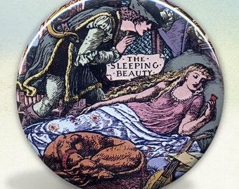 Sleeping Beauty Pocket Mirror