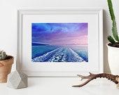 Orcas Island, Salish Sea, Mermaid, Fine Art Print, 8x10 Print, 11x14 Print, Sea, Washington, Explore, Wanderlust