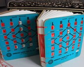 Graduation Gift, Made to Order, travel book, sketchbook, art journal, wedding gift, wedding guestbook, vintage bingo book, gifts for her