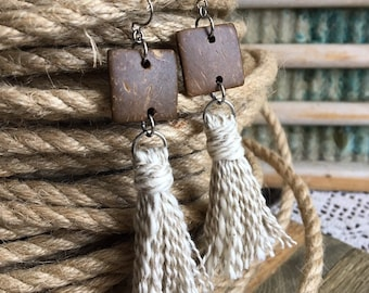 Tassels & Bar Earrings
