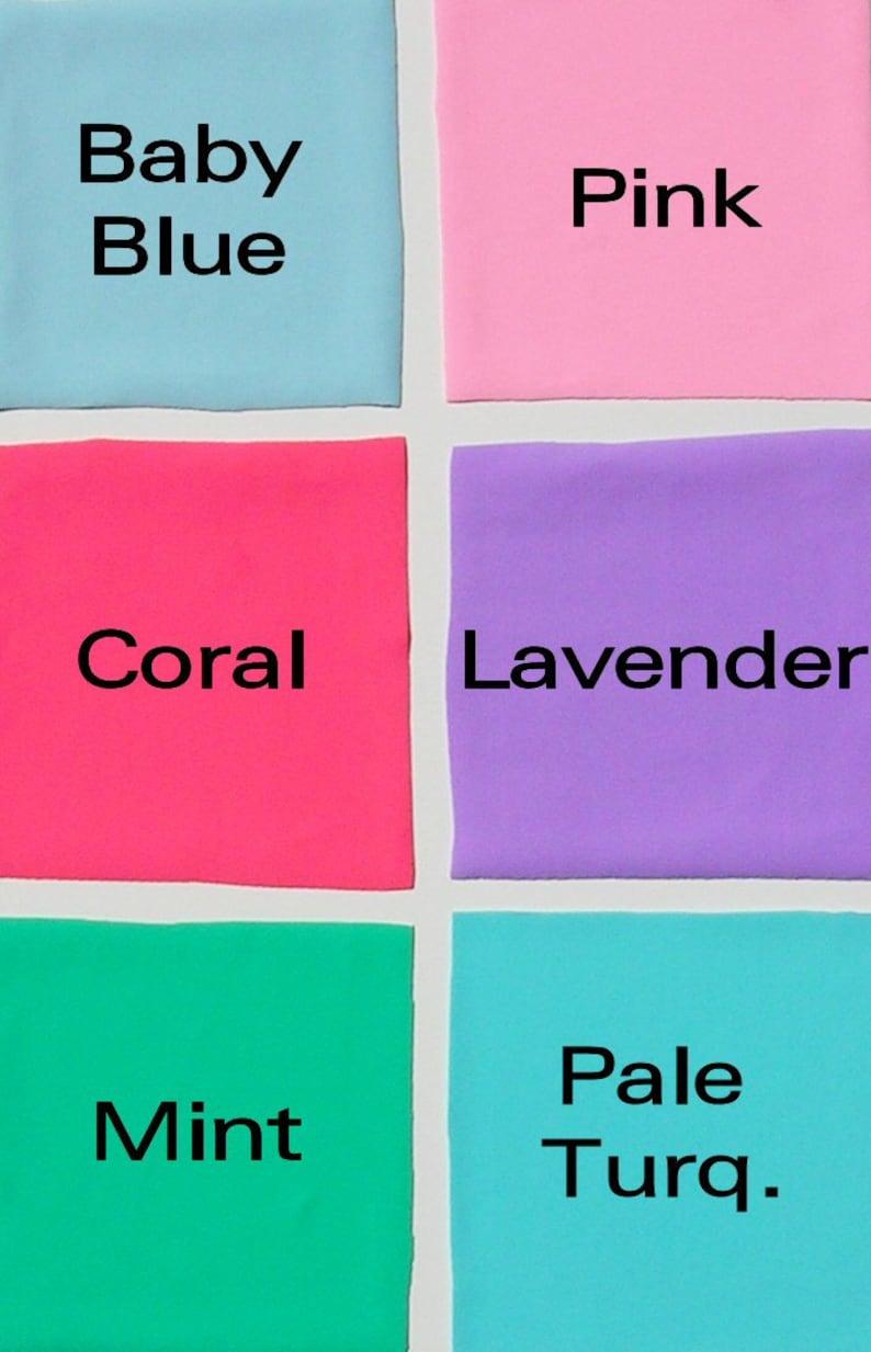 Coral Mint Green Scrunch Butt Brazilian Tie Bikini Bottom in White Turquoise Lavender Pink Baby Blue