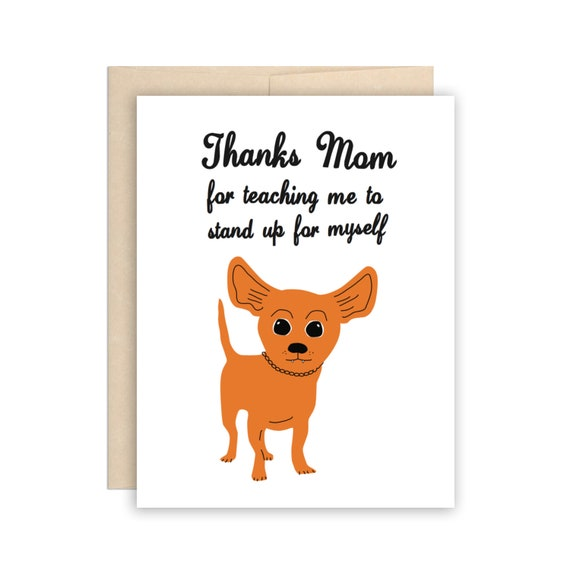 new funny Father/'s Day Card from The Dog with Envelope Greeting Card