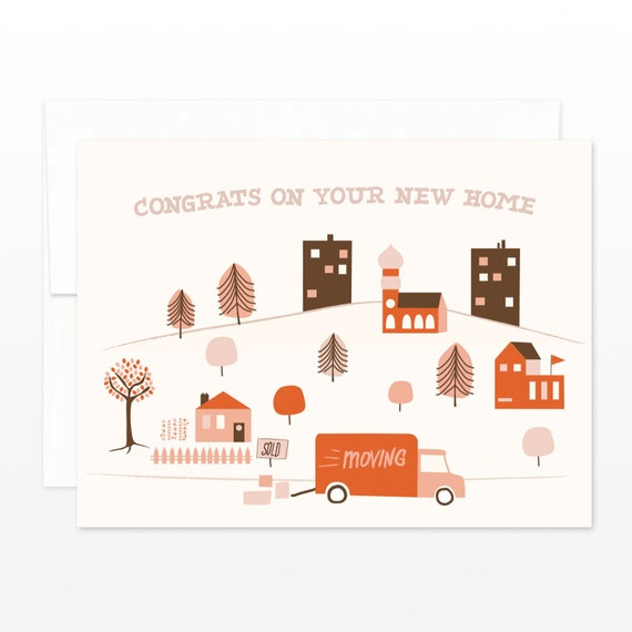 New home town card new house greeting card housewarming etsy image 0 m4hsunfo