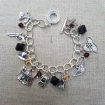 Phryne bracelet | inspired by Miss Fisher's Murder Mysteries| Charm Bracelet