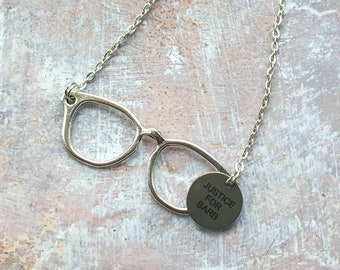 """Justice for Barb! necklace