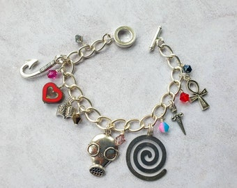 The Endless| Charm Bracelet inspired by The Sandman| The Endless Sigils Bracelet