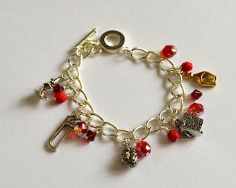iLiv charm bracelet inspired  by iZombie