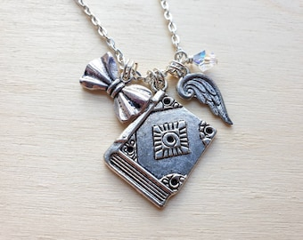 """Aziraphale necklace