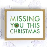 Long Distance Christmas Card for Boyfriend, Girlfriend Military Deployment Holiday Card, Long Distance Holiday Card for Him, Miss You