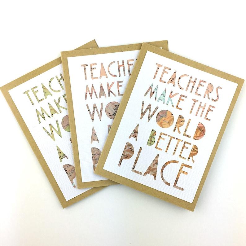 Coworker Teacher Card Unique Teacher Card for End of Year Gift Idea Teacher Gift End of Year Teacher Appreciation