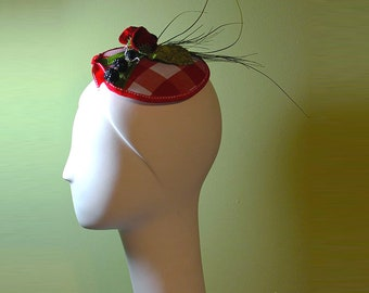 Unique Summer Fascinator - Award-Winning Picnic Themed Fascinator - Unique Fascinator - Derby Fascinator - OOAK