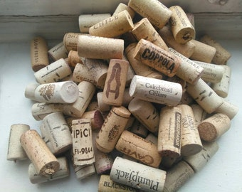 Real Wine Corks for Crafting, Lot of 50