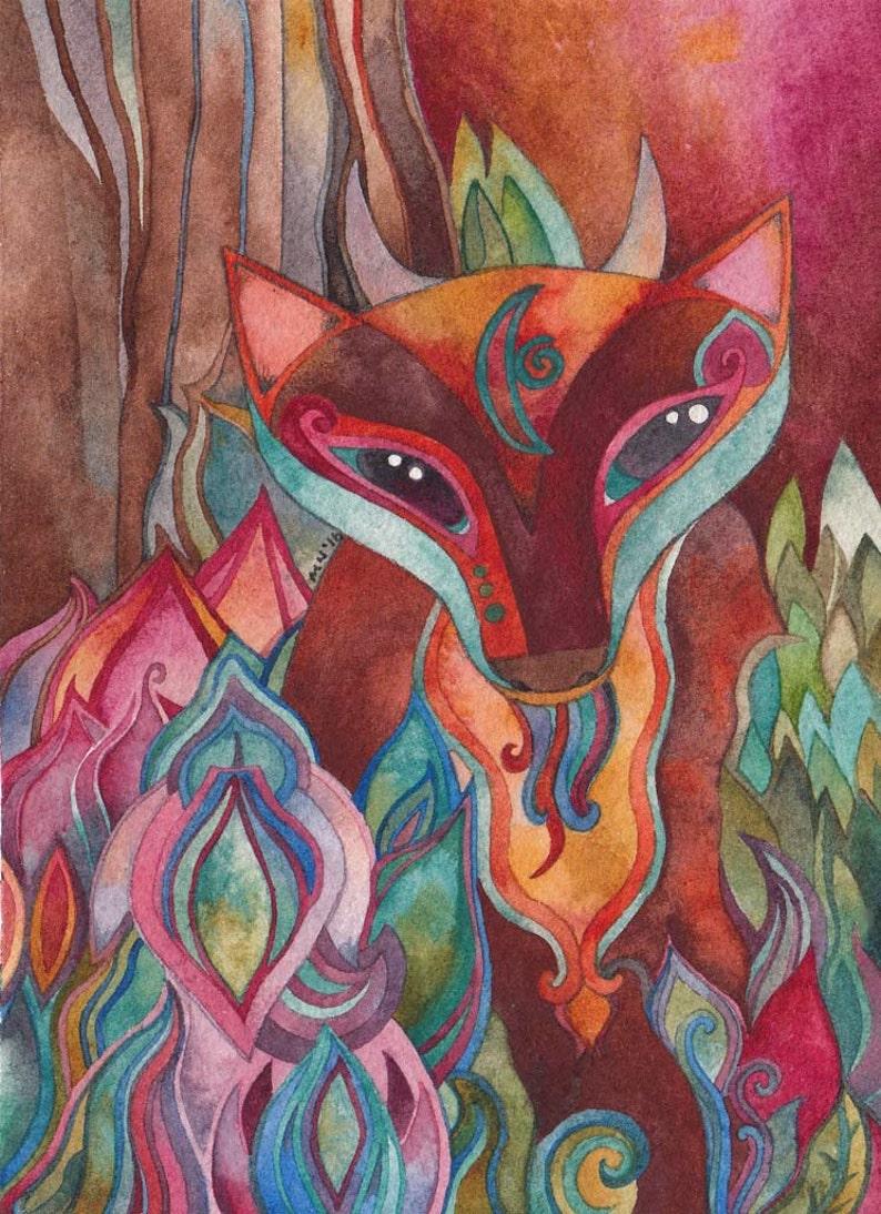 Mabitou  Giclee print by Megan Noel image 0