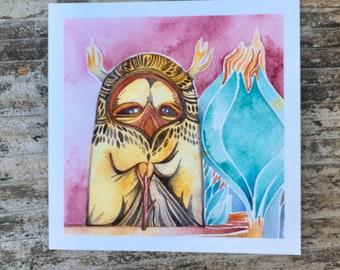 Wise One  Giclee print by Megan Noel