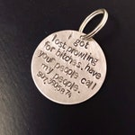 Prowling For... Lost Pet Charm - Aluminum
