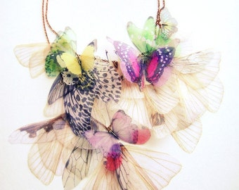 Fluttery Breath of Life Necklace- 2