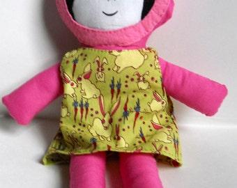 Frabic Doll Strange Bunnies Dress, Softie,Stuffie