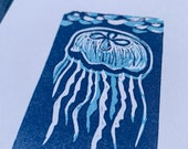 Go With The Float jellyfish print