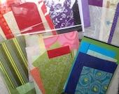 Fancy paper scrap pack
