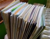 instant collection letterpress zines
