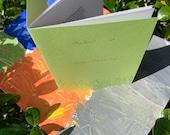 Pandemic homeschool letterpress zine