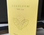 Ker-bloom letterpress zine 119