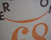Kerbloom 68 letterpress zine