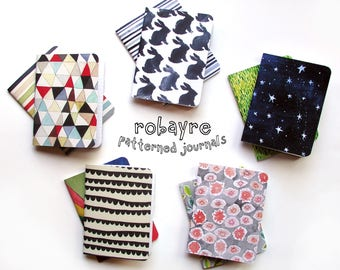 Robayre Little Pattern Notebooks