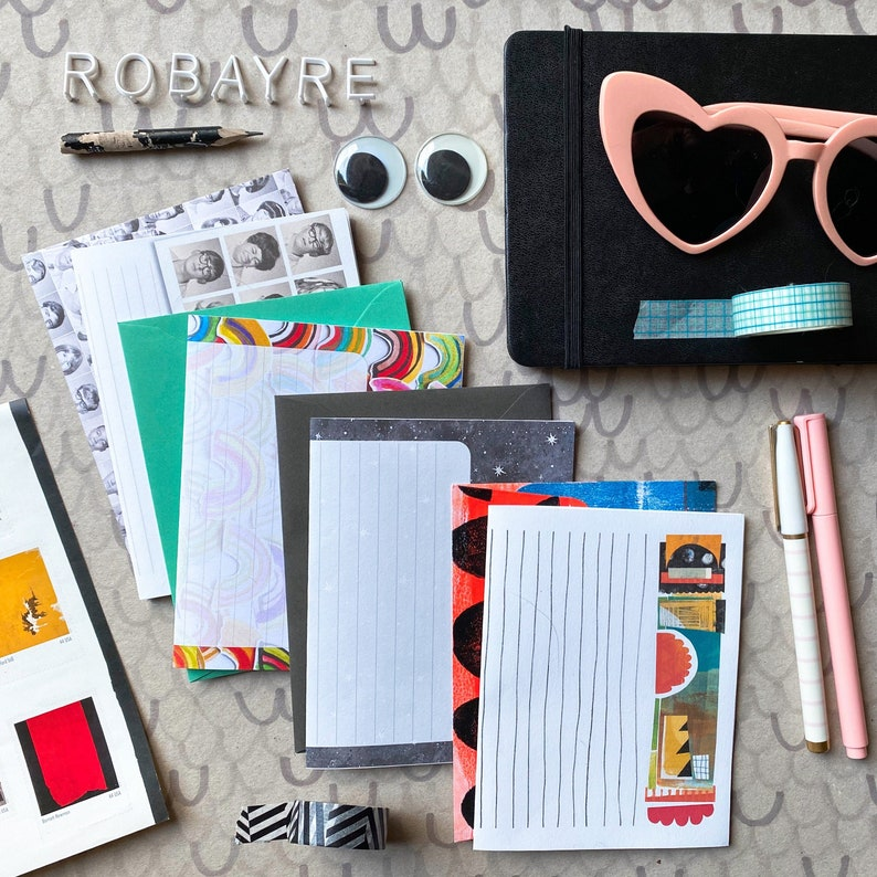 Variety Pack Letter Writing Paper Stationery Set writing image 0