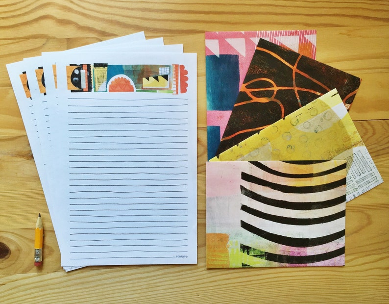 Life is Colorful stationery paper set letter writing pages image 0