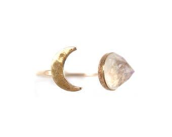 MMR Luna Moonstone Ring