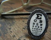 Eye Chart Vision Test Ring - Adjustable
