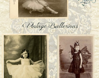 Vintage Ballerinas - Digital Download