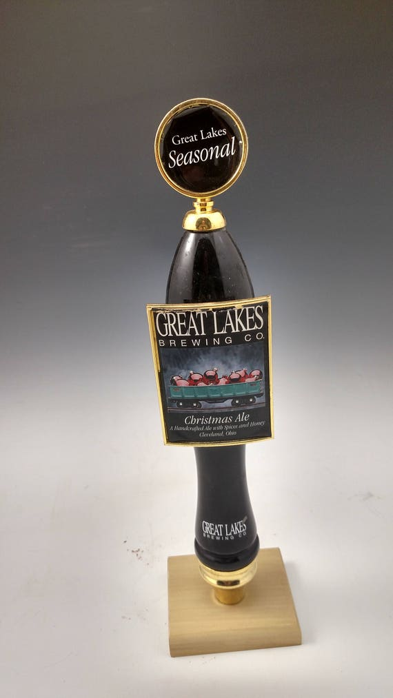 Beer trophy Christmas ale from Great Lakes Brewery. Bar used | Etsy