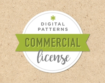 Commercial License for Digital Seamless Pattern