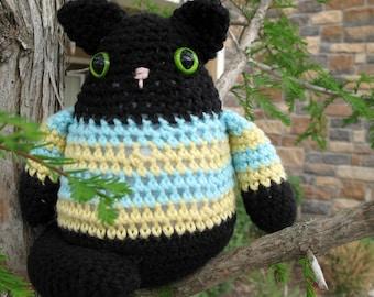 PDF Pattern - Amigurumi Fat Cat Crochet Pattern