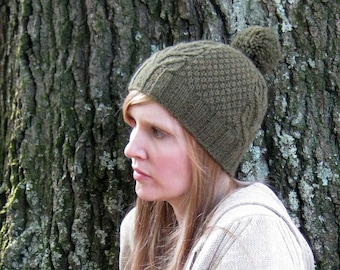 Cabin Hat Knitting Pattern pdf