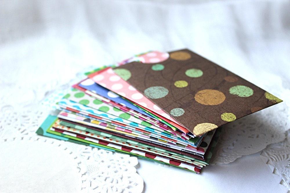 handmade envelopes business card envelopes gift card  etsy