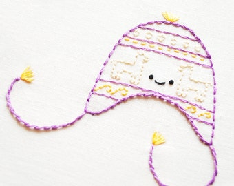 Hats of the World - Digital Hand Embroidery Pattern