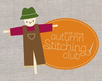 Autumn Stitching Club - Fall Embroidery Patterns and Pillow Project