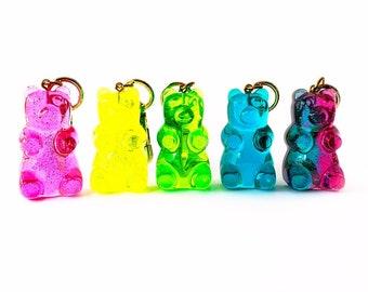 Gummy Bear Bag Charm