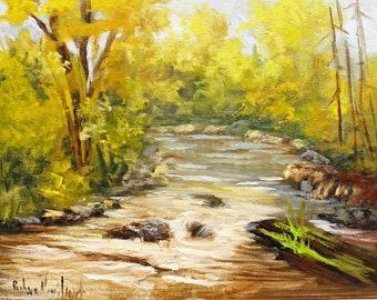 San Juan River Bed, plein air, landscape, oil painting, Barbara Haviland, #endofyearsale