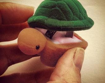 Tiny Turtle Ring Box