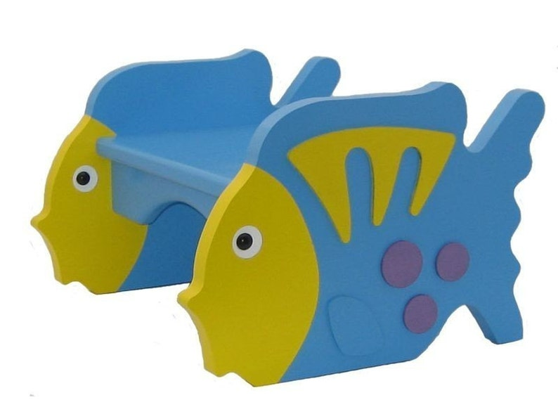 Tropical Fish Step Stool image 0