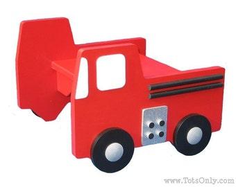 Fire Truck Step Stool